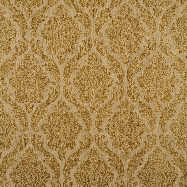 Brown and Gold Damascus Wallpaper   Wall Sticker Outlet 600x600