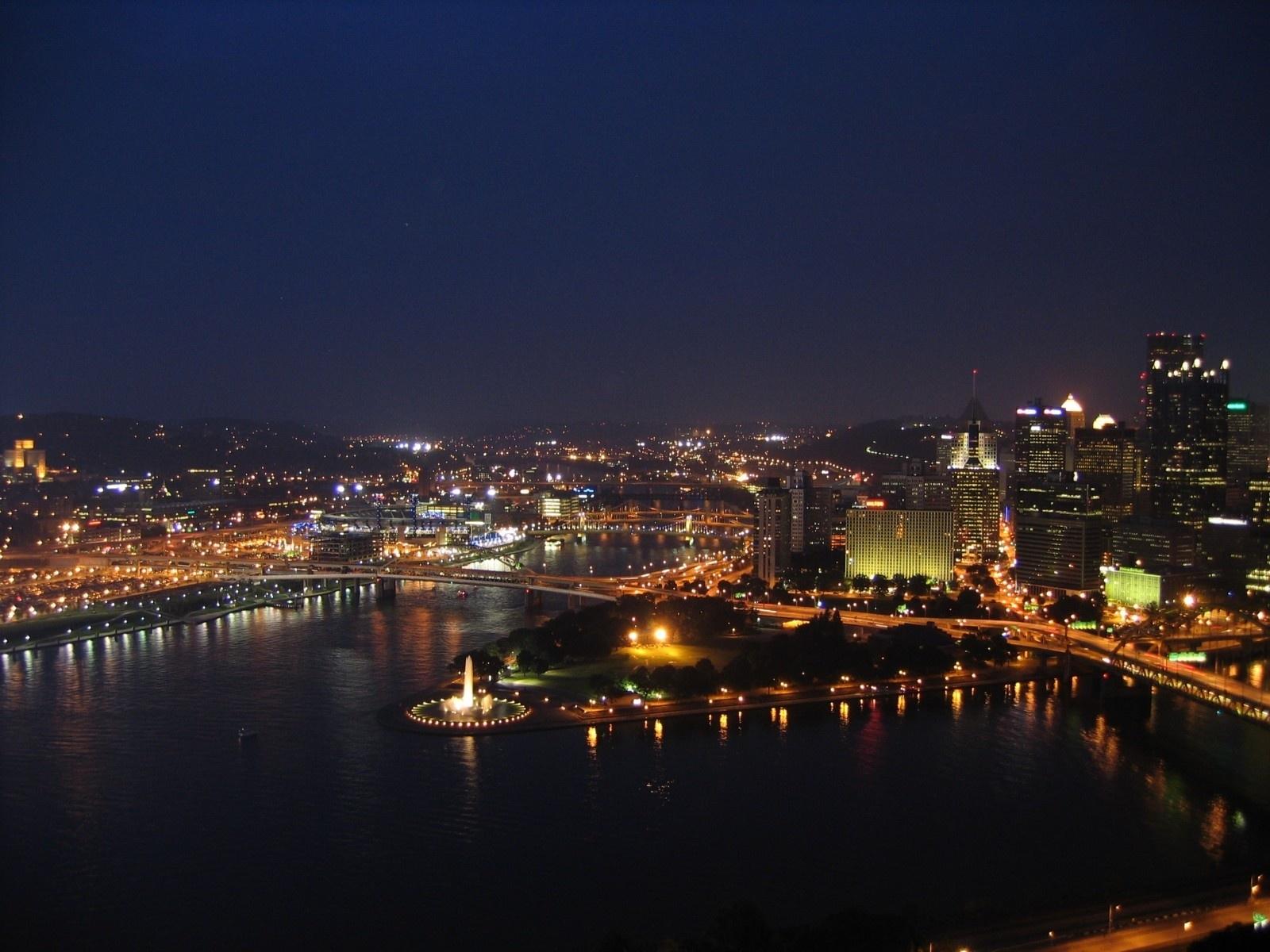 Pittsburgh Desktop Wallpaper Skyline: Pittsburgh Scenes Wallpaper For Desktop