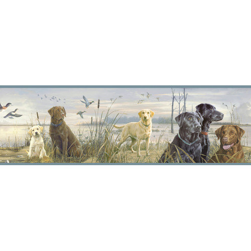 Borders by Chesapeake Trusty Labs Portrait Wildlife Border Wallpaper 500x500