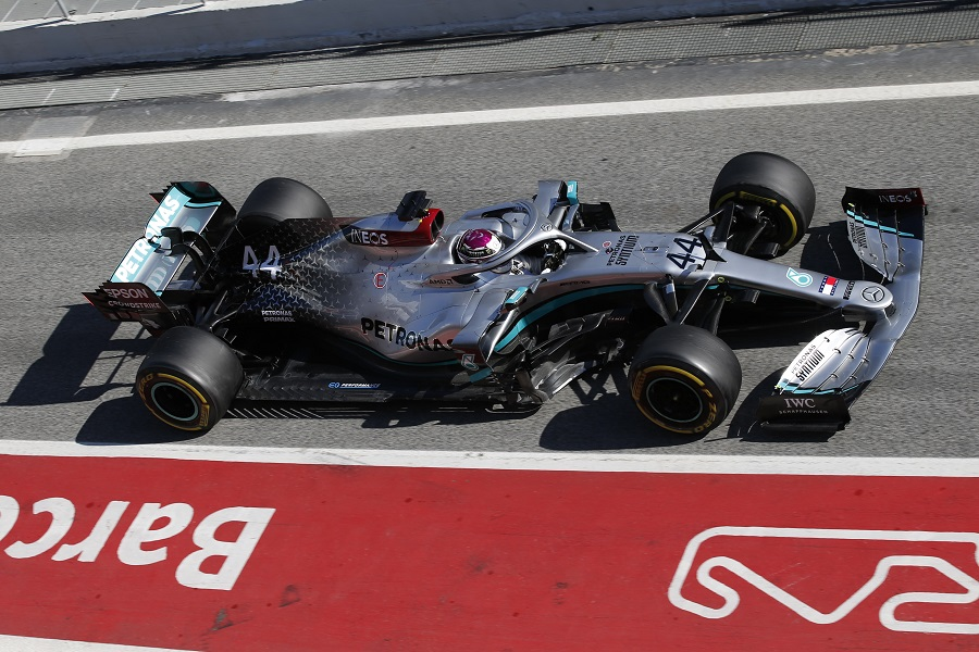 All the angles of Mercedes AMG Petronas F1 Teams new W11 from the 900x600
