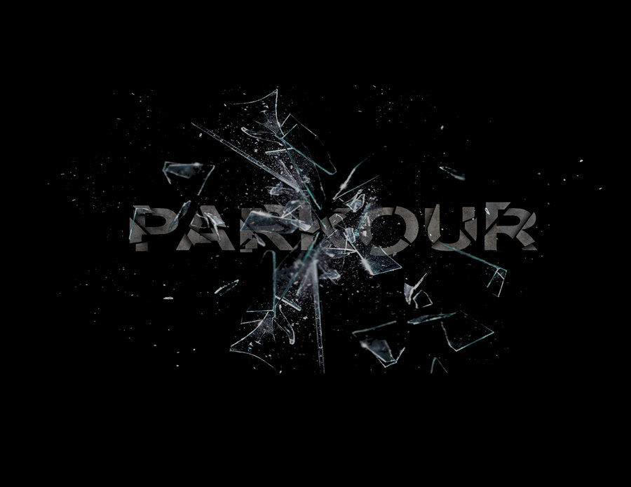 Parkour symbol wallpaper