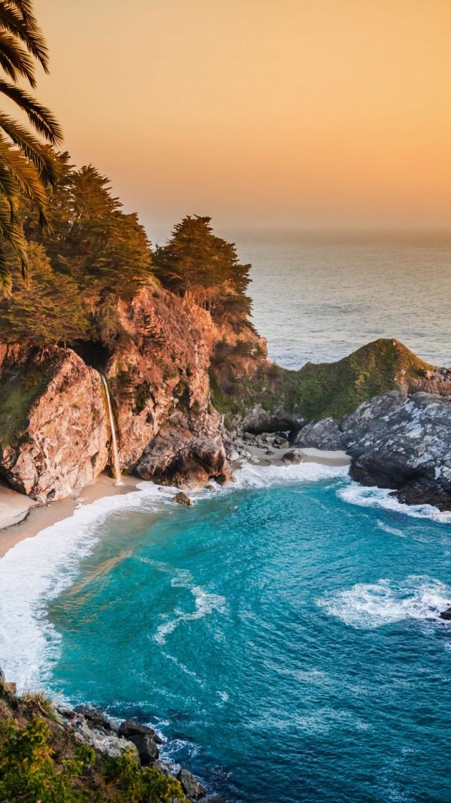 Wallpaper Pacific Ocean 5k 4k wallpaper big sur california 640x1138