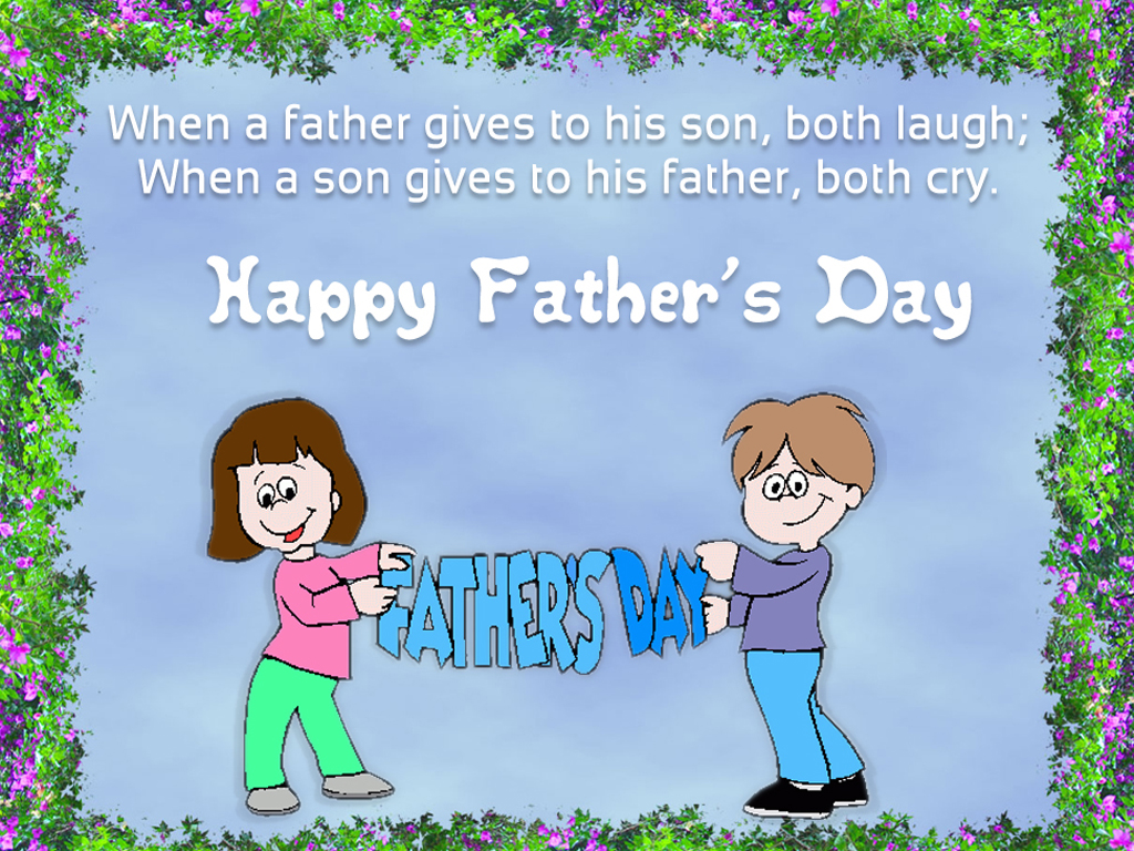 Fathers Day Wallpaper 9to5animationscom   HD Wallpapers Gifs 1024x768