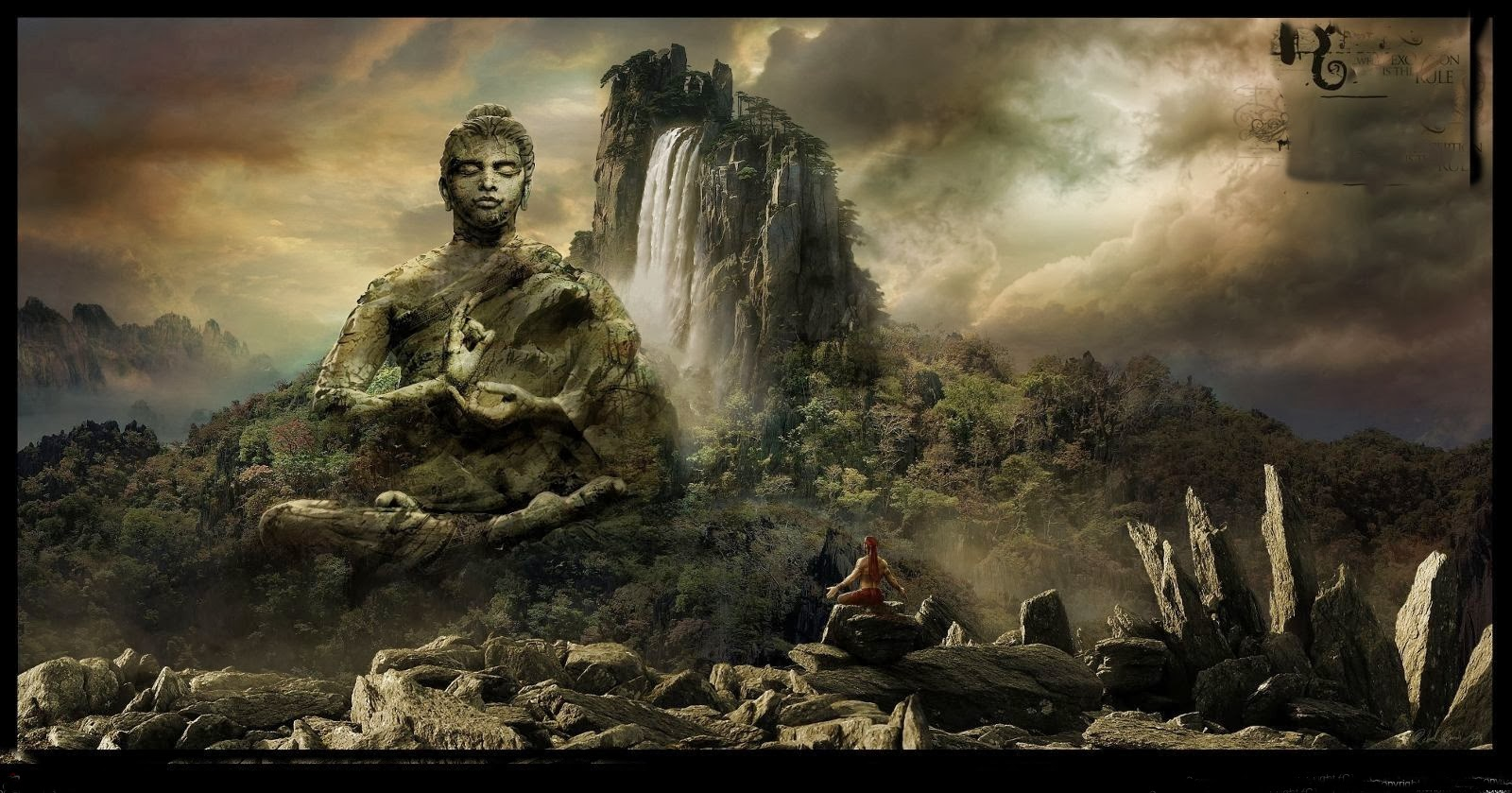 buddhism wallpaper hd
