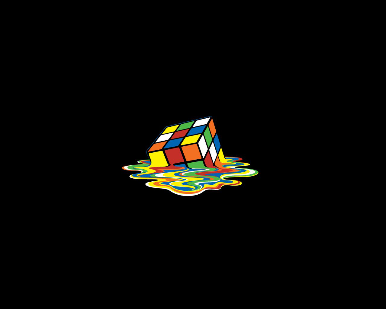 Rubiks Cube Wallpaper 1280x1024 Rubiks Cube 1280x1024