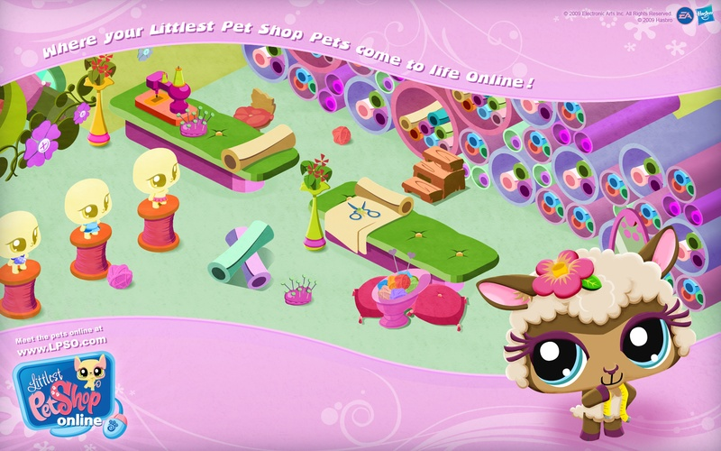 Wallpaper from LPSO 3   Littlest Pet Shop Online Codes 800x500