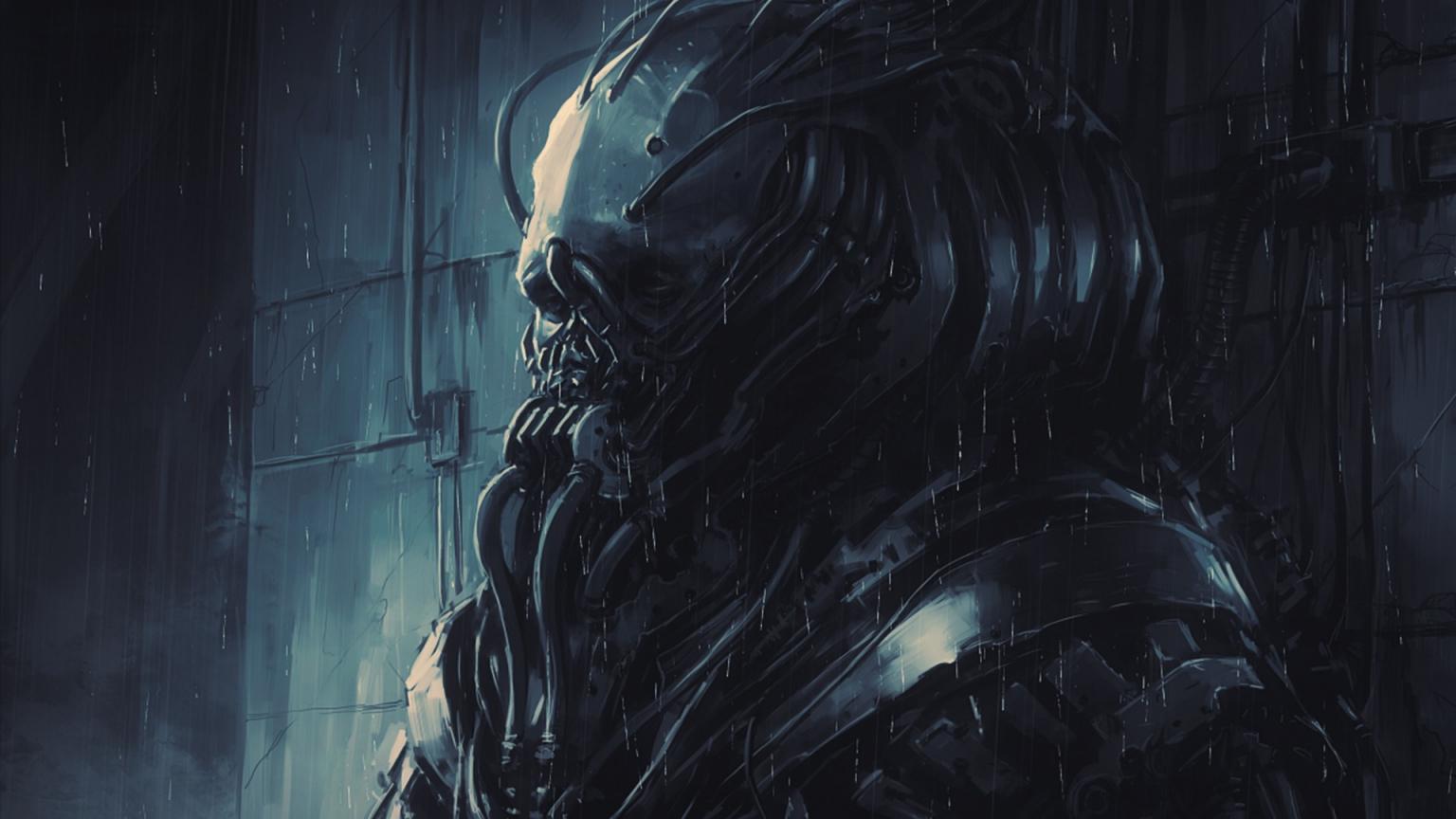 download Alien HD Wallpapers Dreary Alien Desktop Wallpapers 1536x864