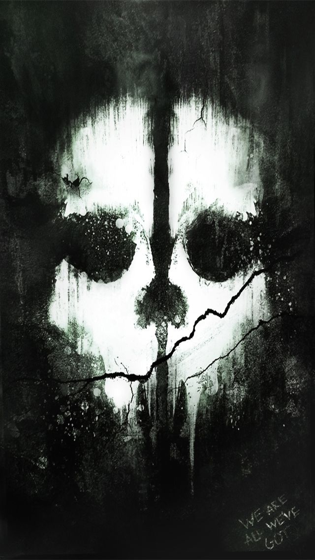 CALL OF DUTY GHOST IPHONE WALLPAPER BACKGROUND Call off duty 640x1136