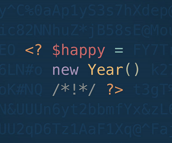 Developer Wallpaper Happy new year developers 550x458