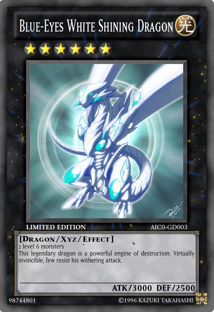 Blue Eyes White Dragon Wallpaper - WallpaperSafari