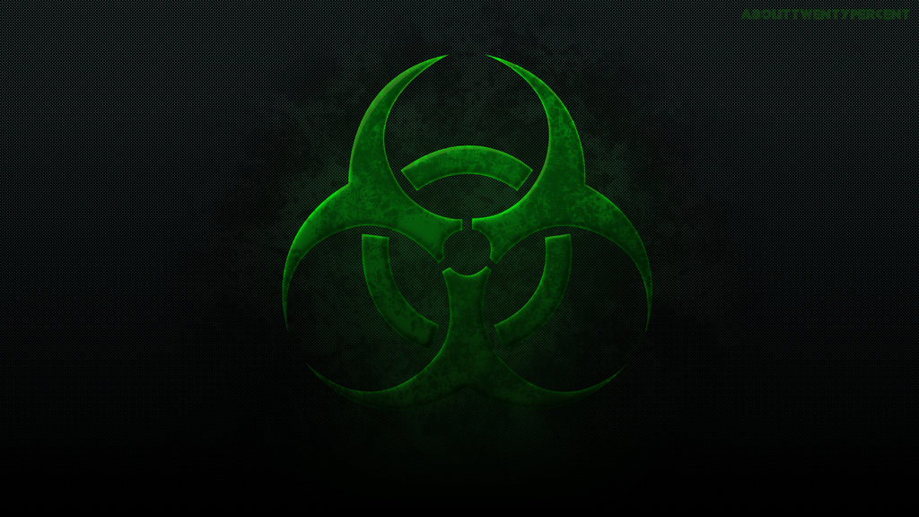 Toxic Symbol Wallpaper Toxic grunge wallpaper by 1024x576