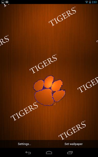 Clemson Live Wallpaper HD Review Android App Playboard 384x614