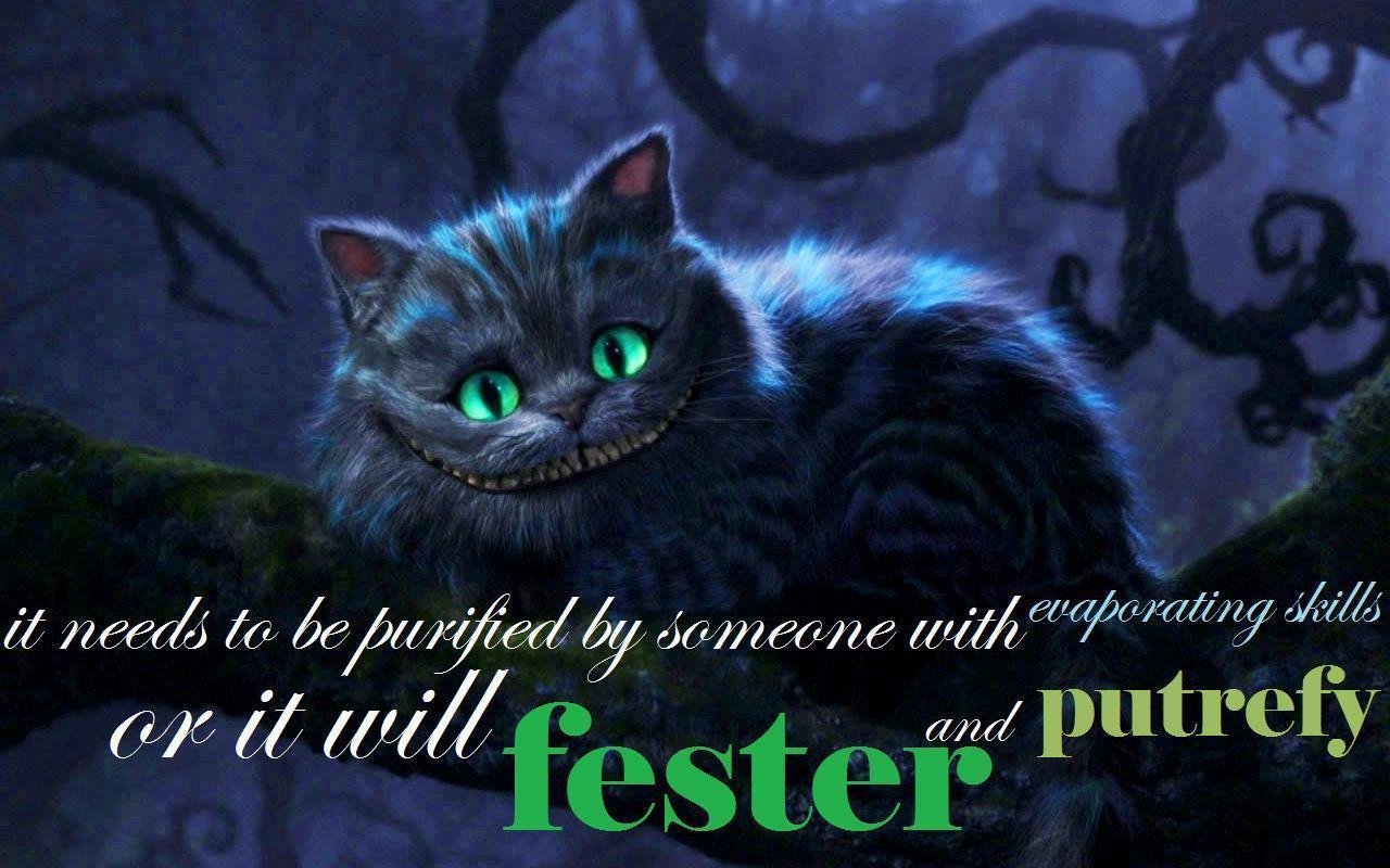 The Cheshire Cat   The Cheshire Cat Wallpaper 35818492 1280x800