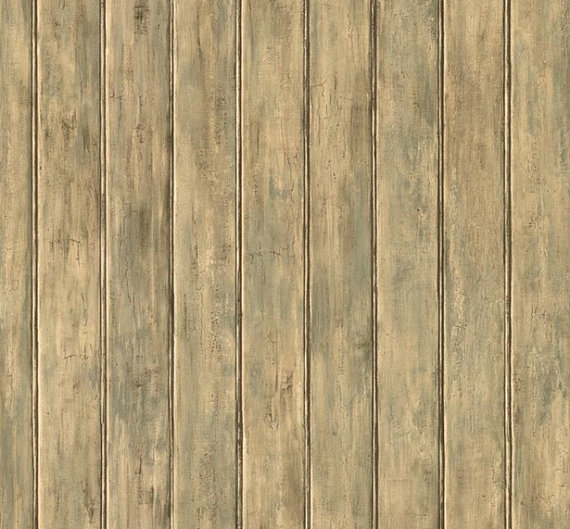 Mossy Weathered White Wood Beadboard by WallpaperYourWorld on Etsy 570x529