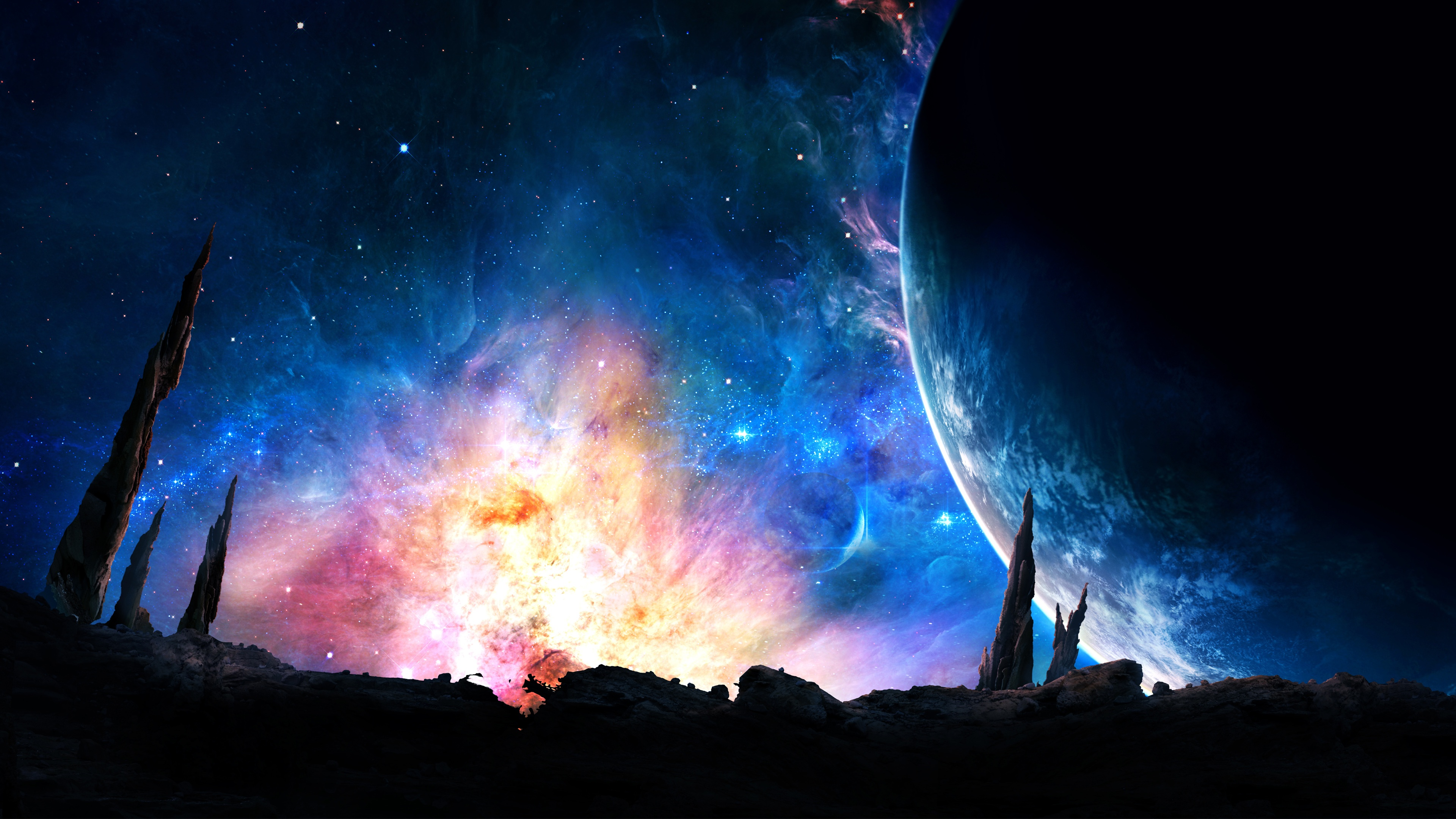 Galaxy Power Wallpapers HD Wallpapers 3840x2160