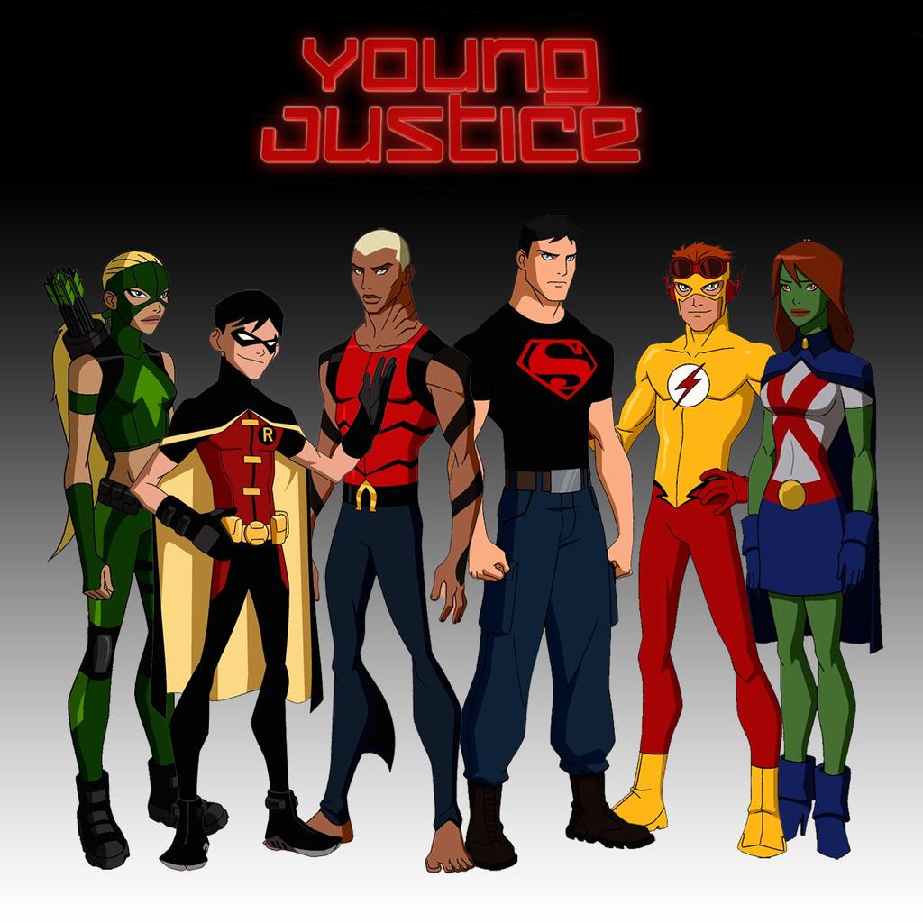 Young Justice Wallpaper   RainpowCom 1024x1024