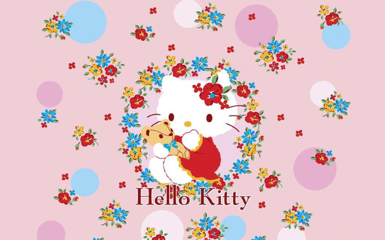 1280x800px Hello Kitty Spring Wallpaper Wallpapersafari