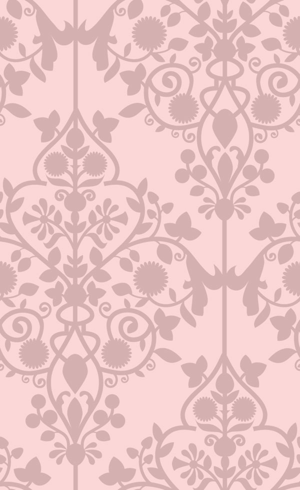 Dianes Digital Damask   Pink Scalable   Shown 12Hx19V Repeat [DIG 600x978