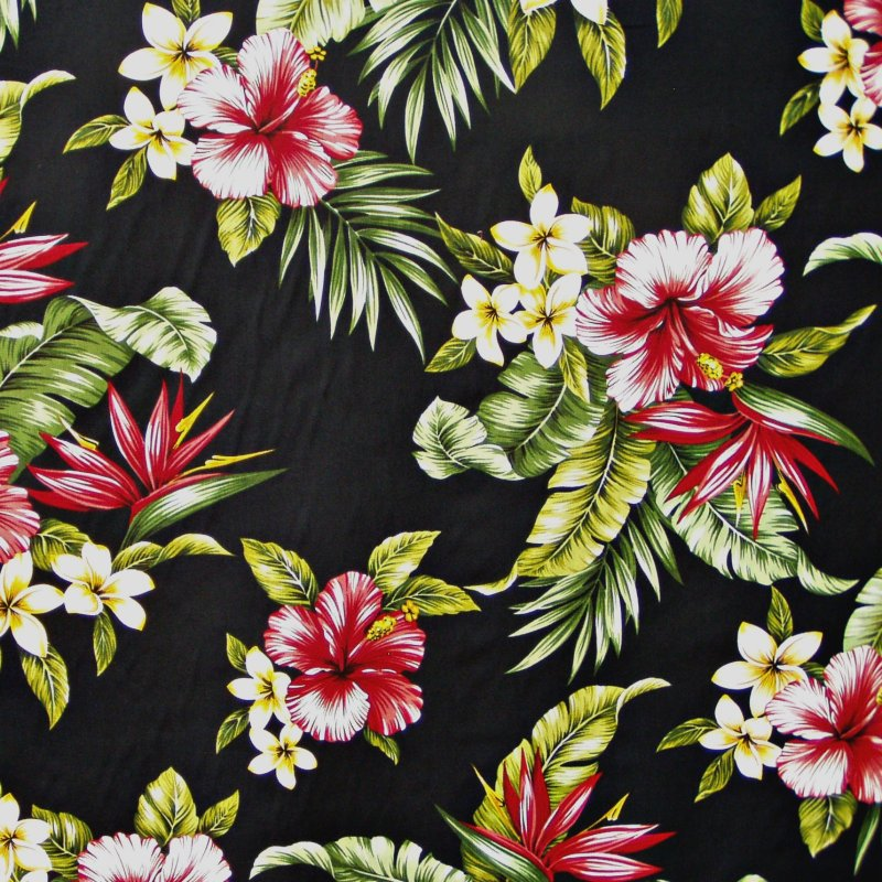 Free Download Tropical Print Wallpaper Tropical Floral Print