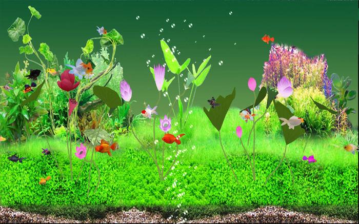 Digital Goldfish Screensaver   Download 700x437