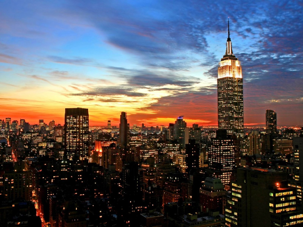 Free Download Download New York City Winter Sunset Wallpapers Desktop Backgrounds In 1024x768 For Your Desktop Mobile Tablet Explore 48 New York City Winter Wallpaper New York City Winter
