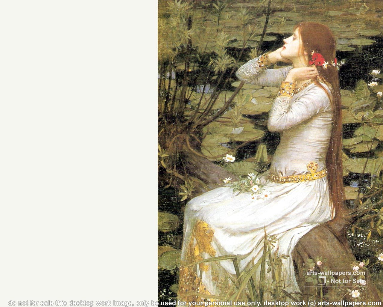 JW Waterhouse Wallpaper Paintings Wallpapes Pictures 1280x1024