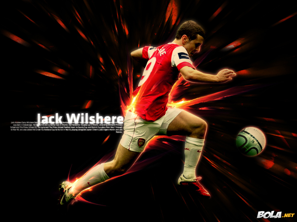 Jack Wilshere Arsenal Wallpaper Hd 2013 With Resolutions 1024768 1024x768