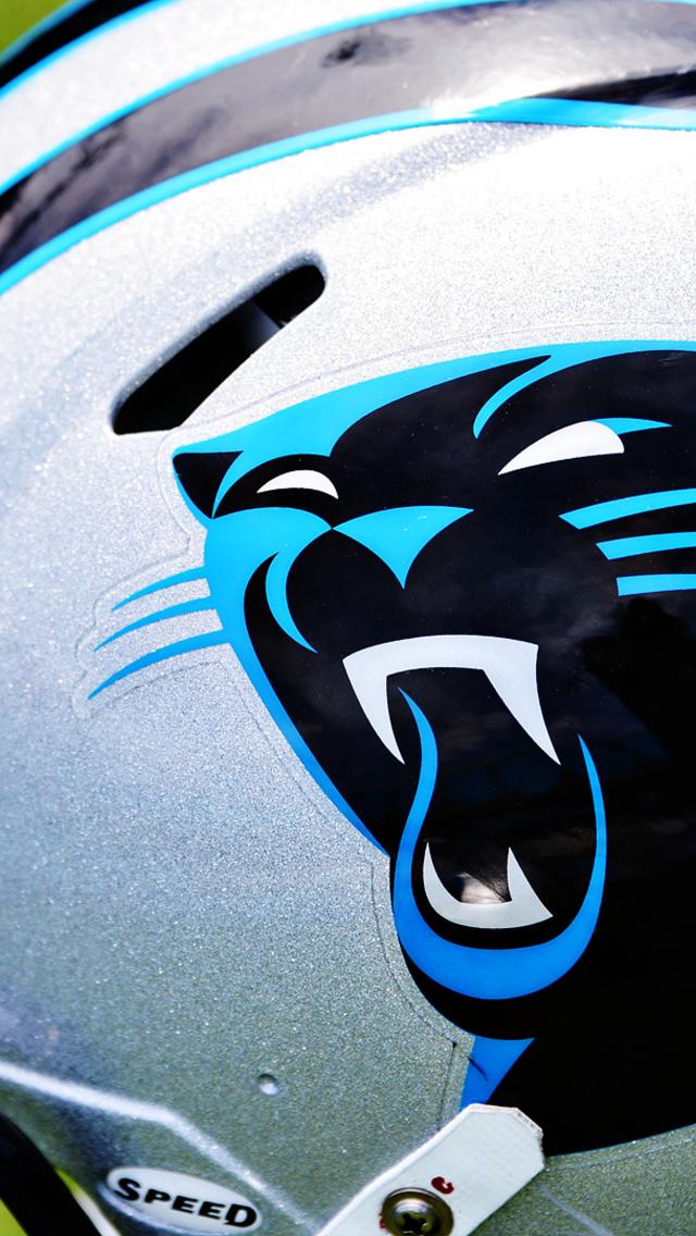 Back Gallery For Carolina Panthers Helmet Wallpaper 640x1136