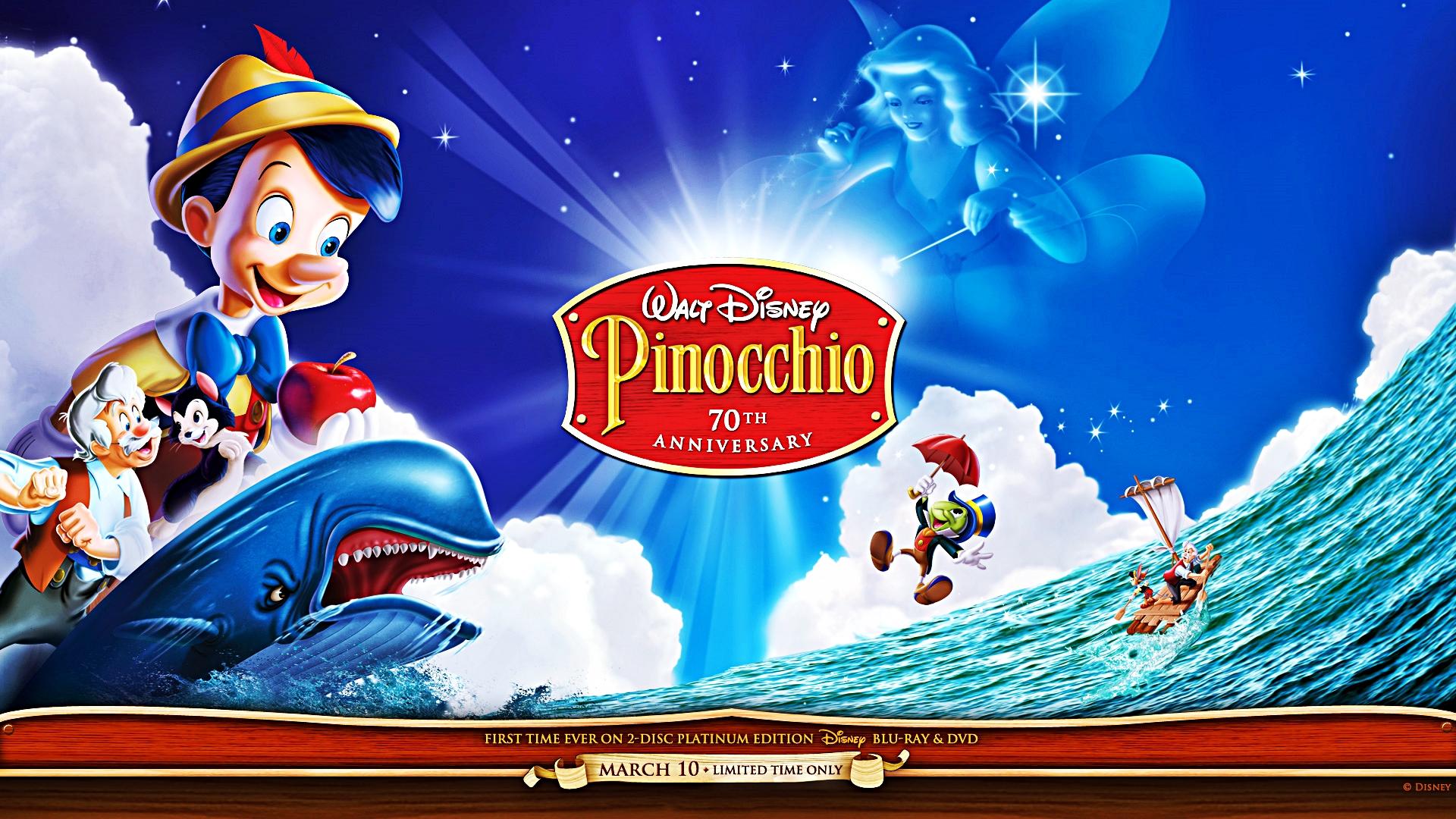 Walt Disney Wallpapers   Pinocchio   Walt Disney 1920x1080