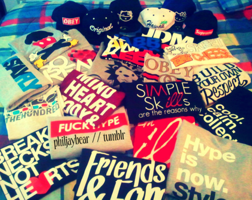 Swag swag stuff must haves tees obey supreme illest 500x397