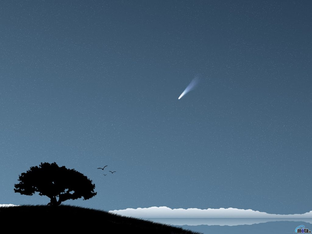 Shooting Star Backgrounds 1024x768
