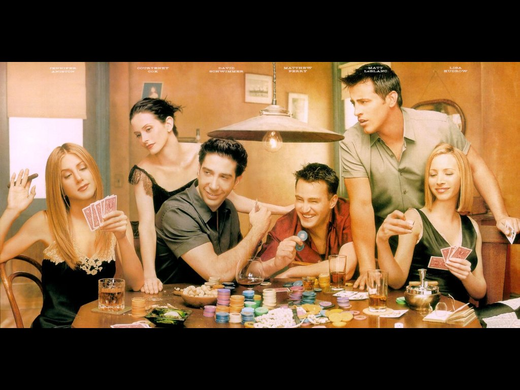 friends tv series wallpaper   group picture image by tag 1024x768