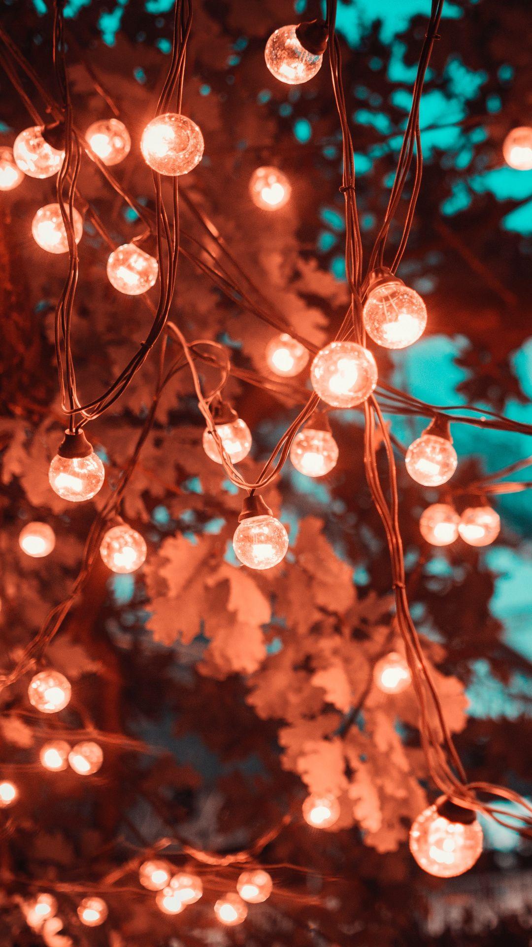Wallpapers light emitting diode lighting christmas lights 1080x1920