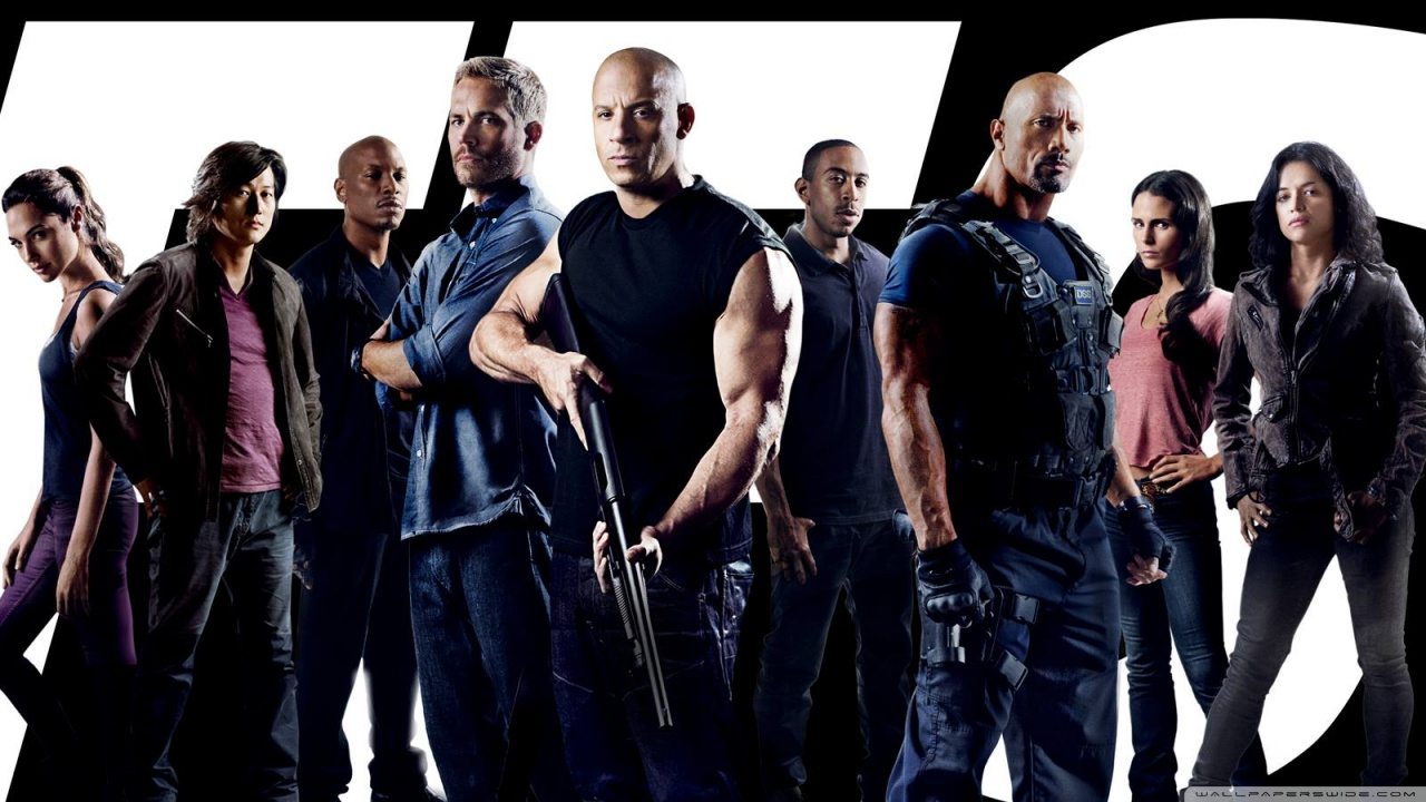 Fast and Furious 7 HD Wallpaper HD Background Wallpaper 1280x720