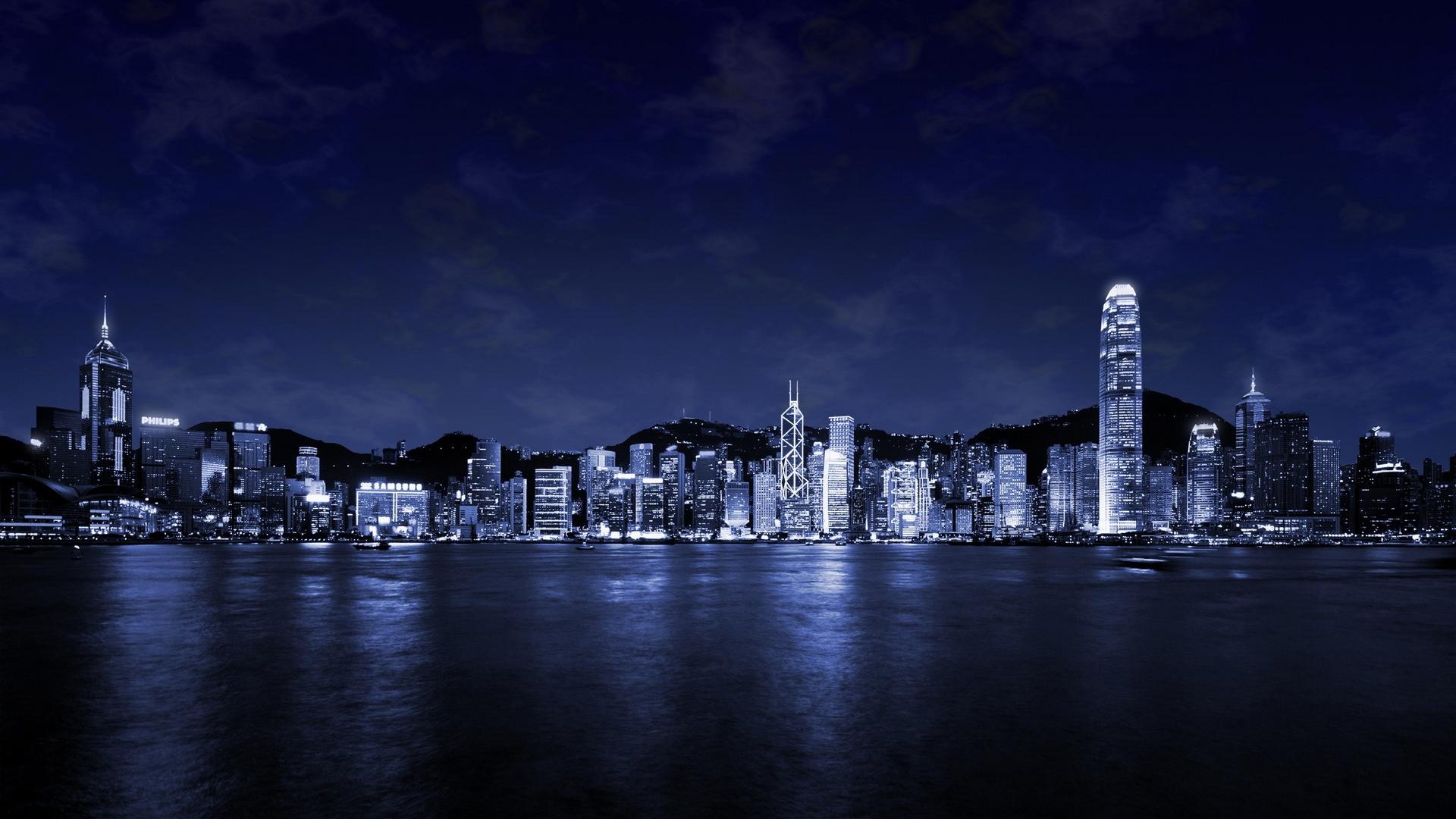 45 Nighttime City Hd Wallpapers On Wallpapersafari