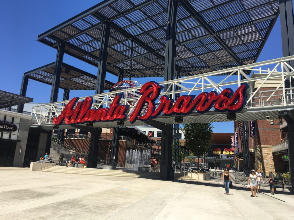 Atlanta Braves Alumni Weekend at SunTrust Park Front Row Seats 1024x768