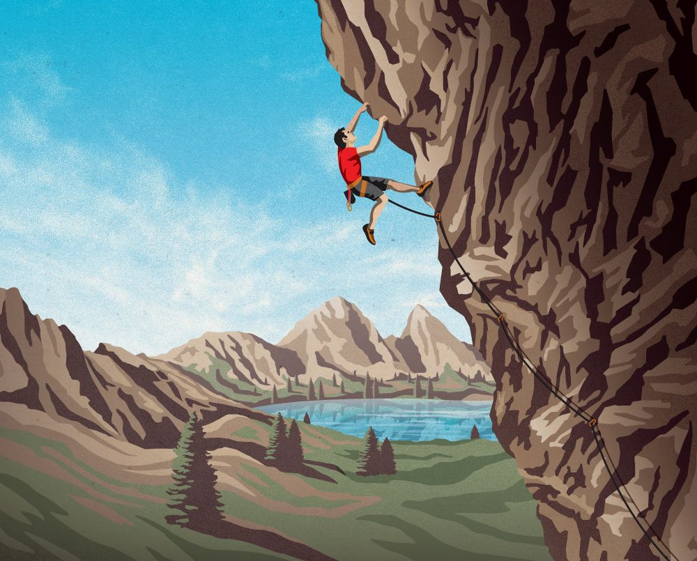 Clif Bar Product Illustrations DKNG Illustration Clif bars 1000x805