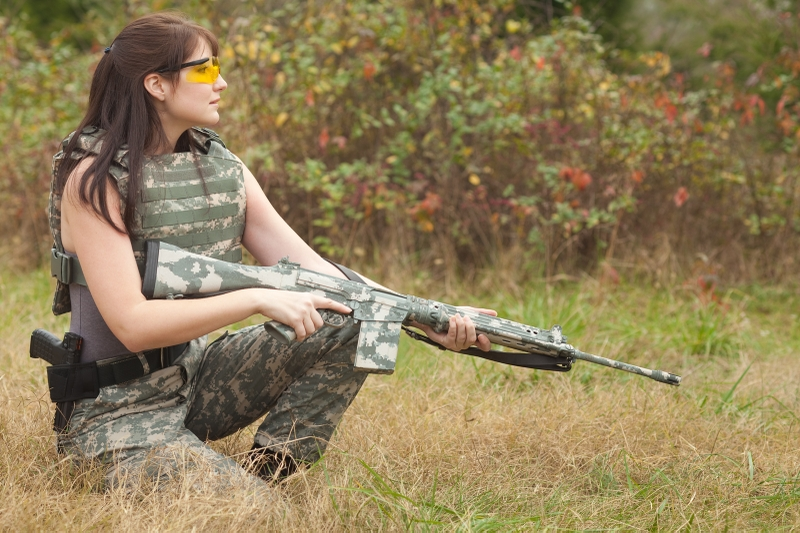 women military girls with guns oleg volk 1600x1067 wallpaper Gun 800x533