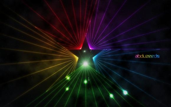 djdesignerlabcomEasy Star Light in Photoshop 580x362