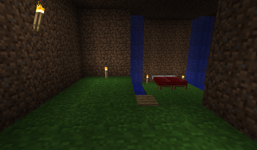 Minecraft Bedroom Wallpaper Minecraft Bedroom 900x524