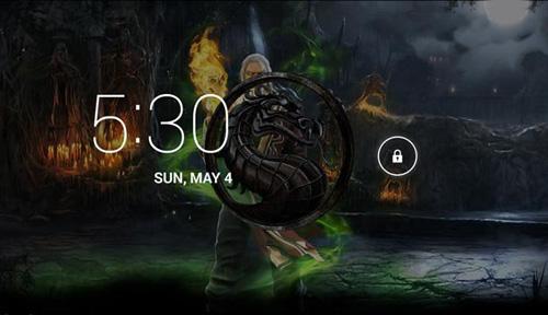 Mortal Kombat 3D Live Wallpaper Android 500x288