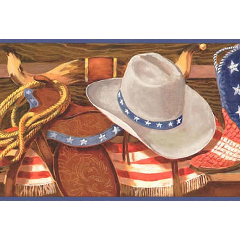 Wallpaper Border Western Western Wear Border 800x800
