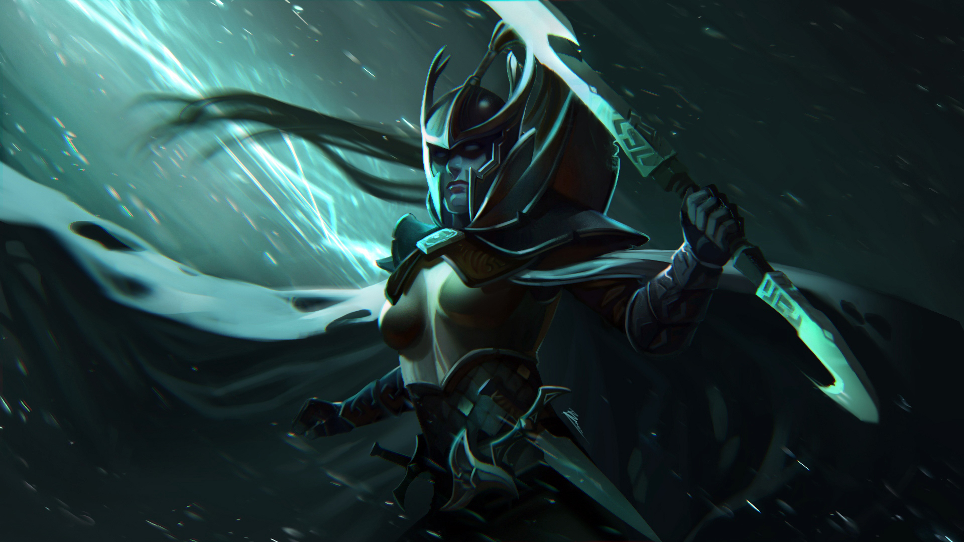 Free Download Mortred Phantom Assassin Dota 2 Hero Girl Defense Of