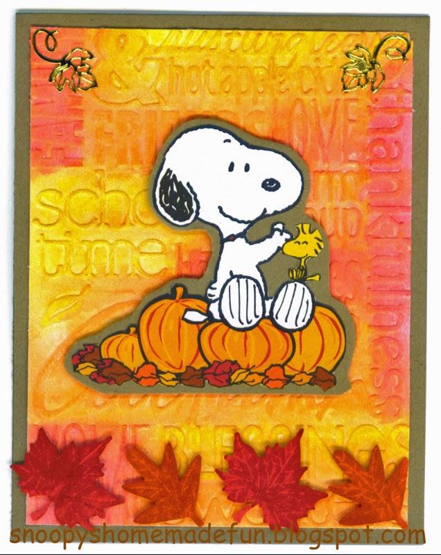Peanuts Autumn Wallpap...