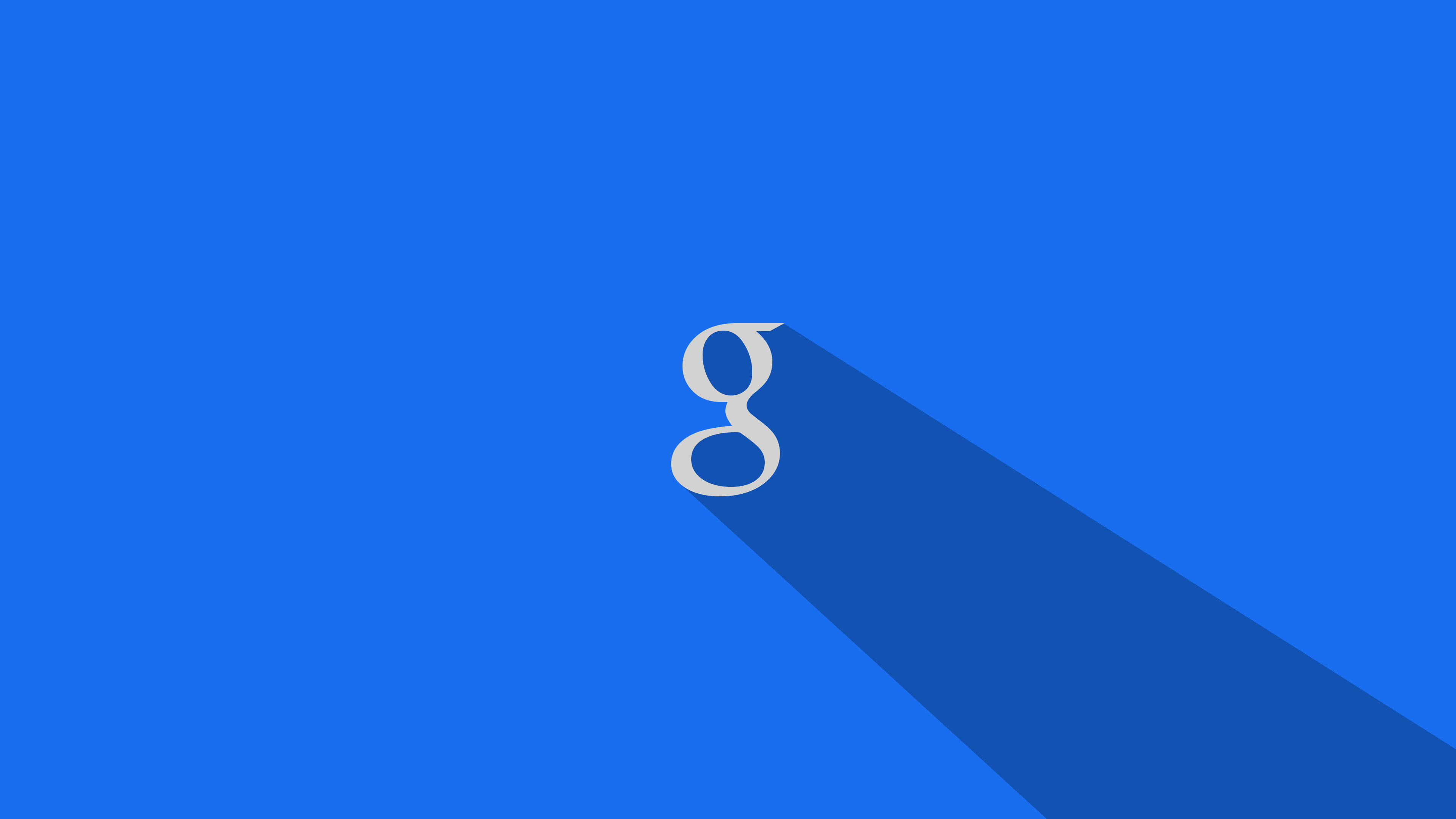 Google Wallpaper Long Shadow in 4K by lotsanewstuff 3840x2160