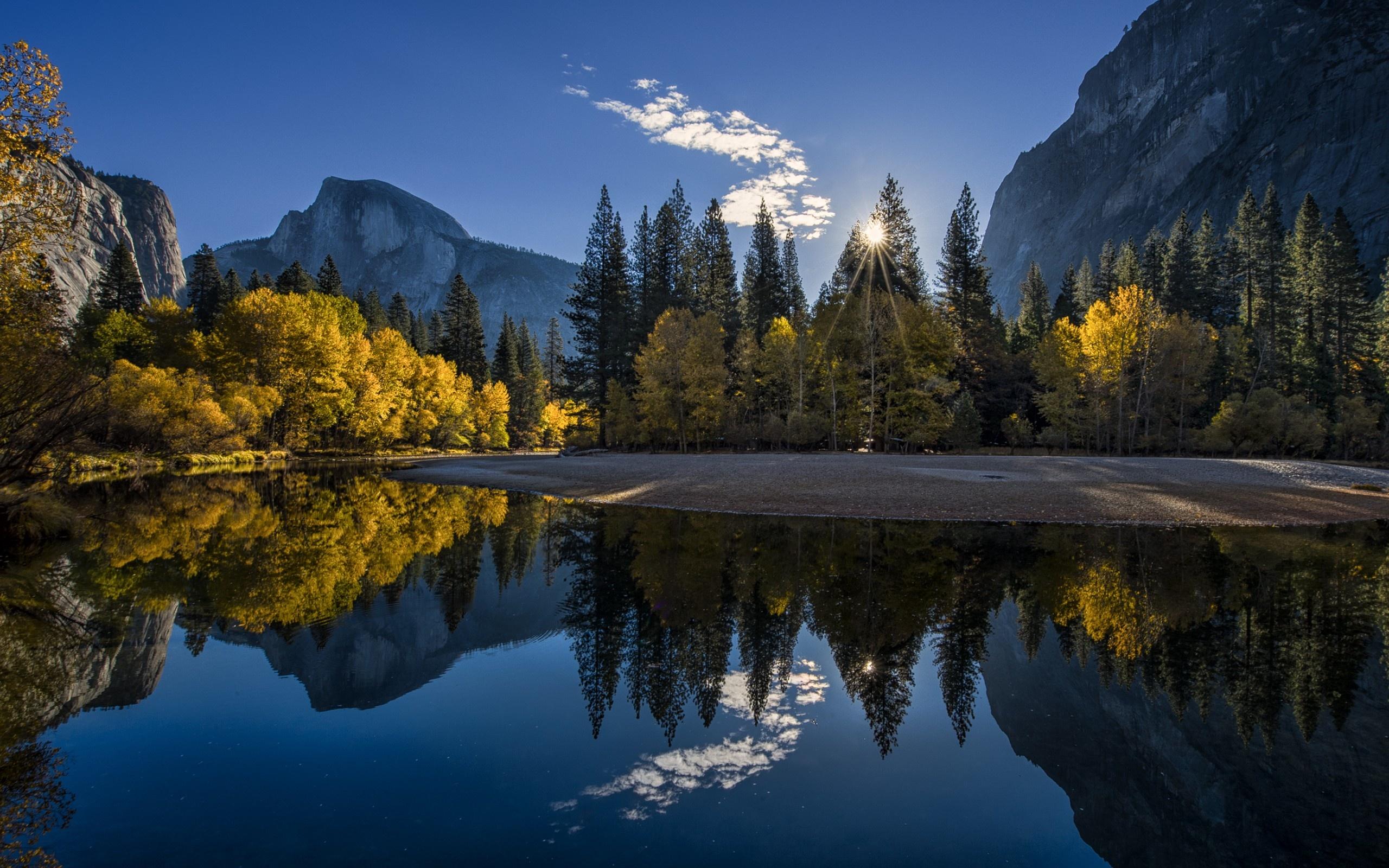 Wallpaper Yosemite National 2560x1600