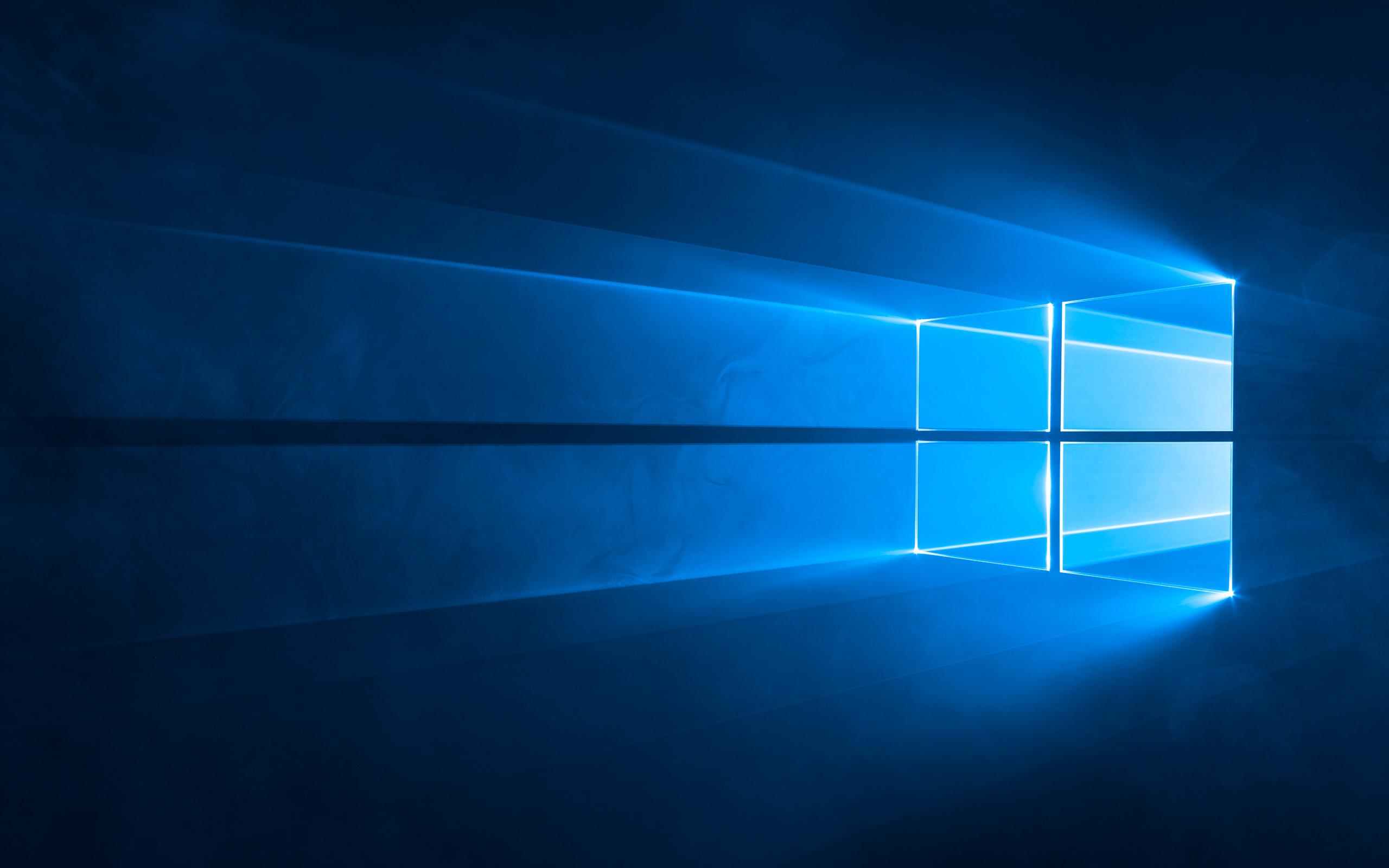 Windows 10 Hero Wallpaper fr den Desktop Download von Microsoft 2560x1600