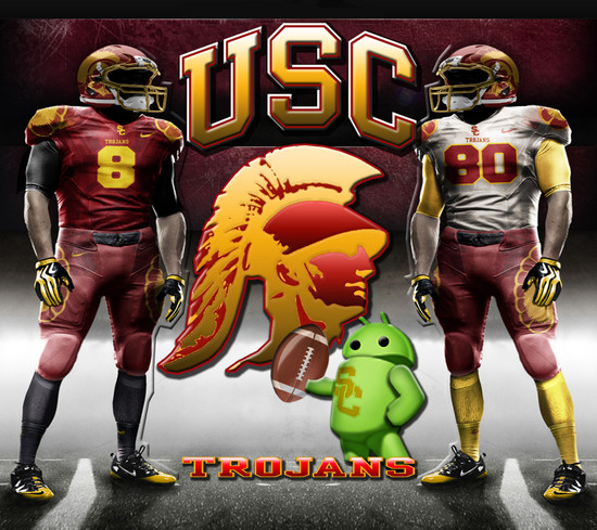 USC Trojans Lloyd Android Central 550x489