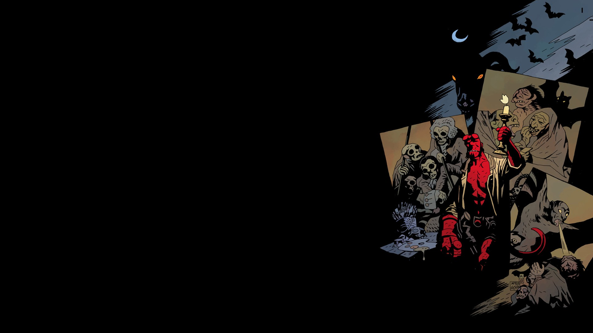 Wallpaper Abyss Explore the Collection Hellboy Comics Hellboy 389742 1920x1080