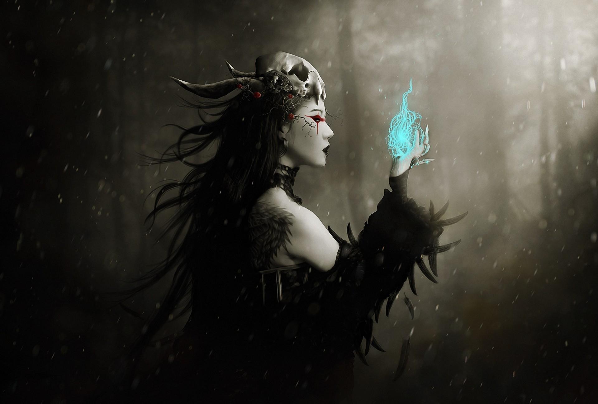 Heavy metal gothic girls porn music video